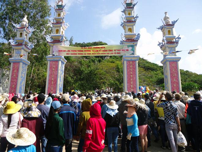Lễ hội chùa Ông Núi - Cát Tiến, Phù Cát