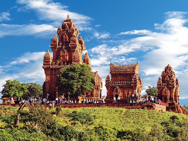 Khu di tích tháp Pô Klong Garai - Phan Rang, Ninh Thuận