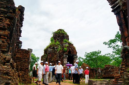 Nhóm tháp G - Thánh địa Mỹ Sơn, Duy Phú, Duy Xuyên, Quảng Nam