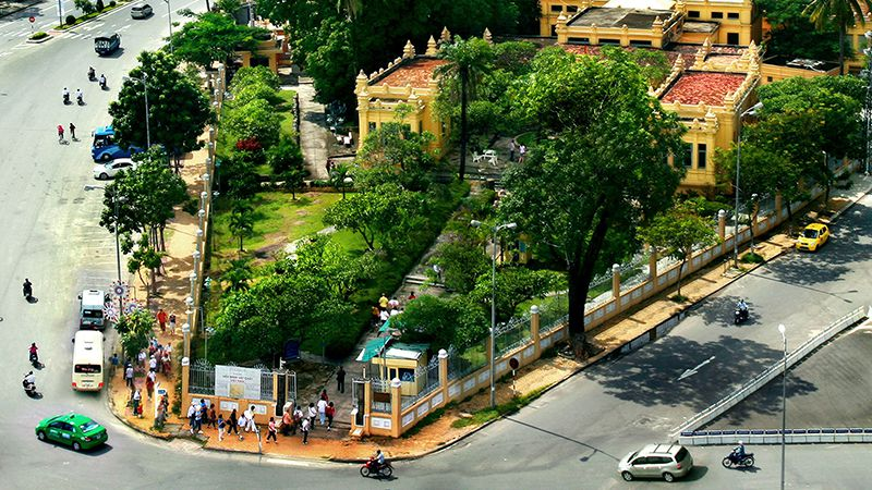 Bảo tàng Nghệ thuật điêu khắc Chăm - Q. Hải Châu, Tp. Đà Nẵng